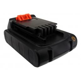 Аккумулятор для Black & Decker LB20, LBX20, LBXR20 20V 1500mAh Li-ion