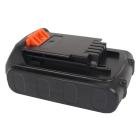 Аккумулятор для Black & Decker LB20, LBX20, LBXR20 20V 2000mAh Li-ion