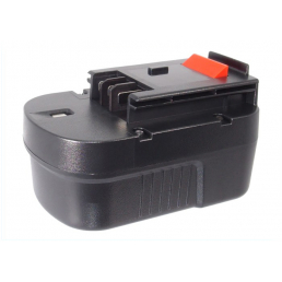 Аккумулятор для Black & Decker A9251, A9274, B-8316 14.4V 2000mAh Ni-Mh