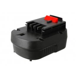Аккумулятор для Black & Decker A12, A1712, FSB12, HPB12 12V 1500mAh Ni-Mh