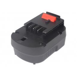 Аккумулятор для Black & Decker A12, A1712, FSB12, HPB12 12V 2000mAh Ni-Mh