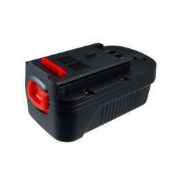 Аккумулятор для Black & Decker A1718, A18, HPB18 18V 1500mAh Ni-Mh