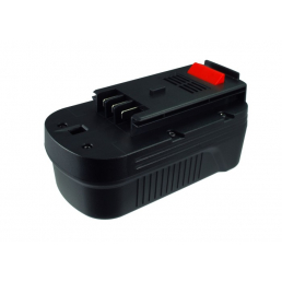 Аккумулятор для Black & Decker A1718, A18, HPB18 18V 3000mAh Ni-Mh
