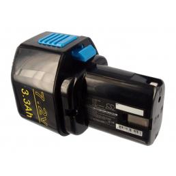 Аккумулятор для Hitachi 325292, EB712S, EB714S 7.2V 3300mAh Ni-Mh